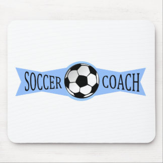 soccer coach mouse pad