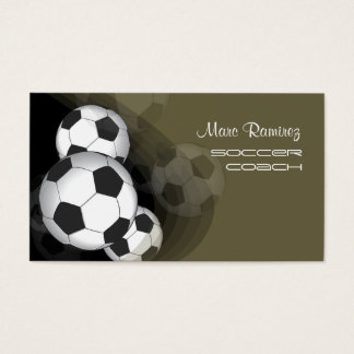 Soccer coach or soccer moms calling cards