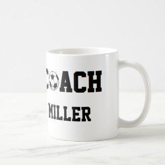 Soccer Coach Personalized Classic White Coffee Mug