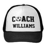 Soccer Coach Personalized Trucker Hat