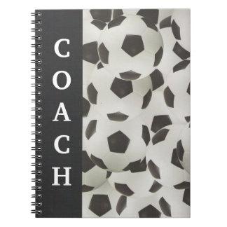 Soccer Coach Playbook Spiral Notebook
