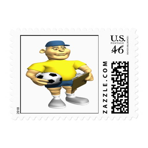 Soccer Coach Stamps