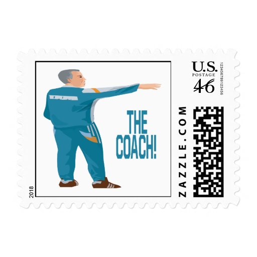Soccer Coach Postage