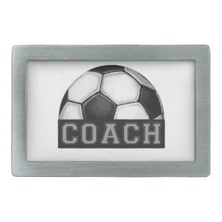 Soccer Coach Rectangular Belt Buckle