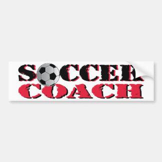 Soccer Coach (red) Bumper Sticker