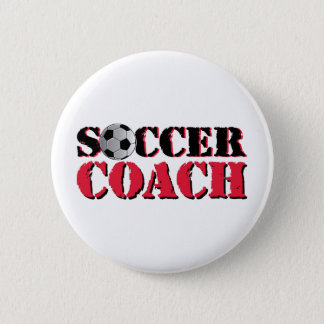 Soccer Coach (red) Button