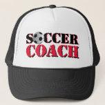 Soccer Coach (red) Trucker Hat