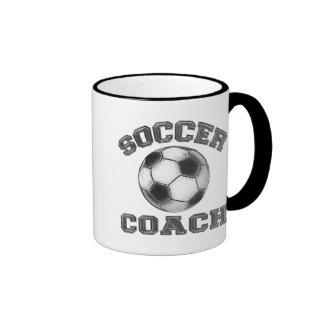 Soccer Coach Ringer Mug