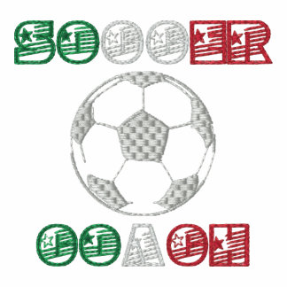 Soccer Coach soccer ball Italian style sports top Embroidered Jackets