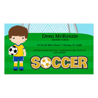 Soccer coach/Soccer player Double-Sided Standard Business Cards (Pack Of 100)
