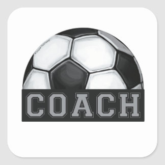 Soccer Coach Stickers