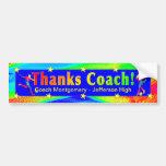 Soccer Coach Thank You Bumper Sticker