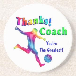 Soccer Coach Thank You Coaster