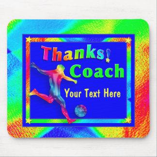 Soccer Coach Thank You Mousepad