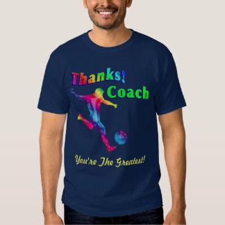 Soccer Coach Thank You Shirt