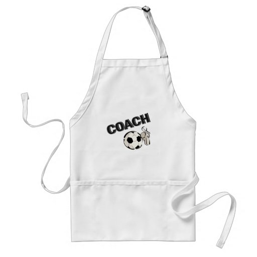 Soccer Coach (Whistle/Ball) Aprons