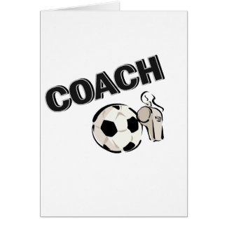 Soccer Coach (Whistle/Ball) Card