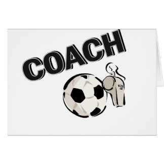 Soccer Coach (Whistle/Ball) Cards