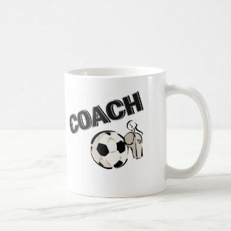 Soccer Coach (Whistle/Ball) Classic White Coffee Mug