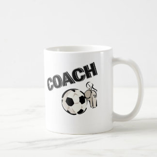 Soccer Coach (Whistle/Ball) Coffee Mug