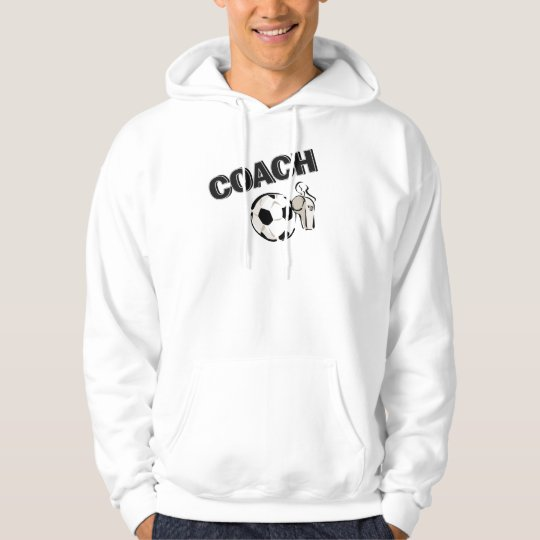 Soccer Coach (Whistle/Ball) Hoodie