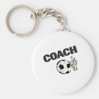 Soccer Coach (Whistle/Ball) Keychain