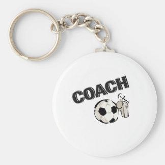 Soccer Coach (Whistle/Ball) Keychain