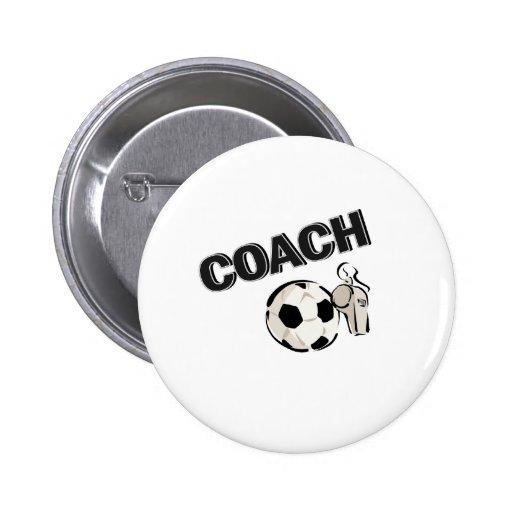 Soccer Coach (Whistle/Ball) Pin