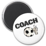 Soccer Coach (Whistle/Ball) Refrigerator Magnets