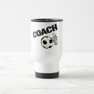 Soccer Coach (Whistle/Ball) Travel Mug