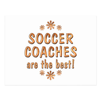 Soccer Coaches are the Best Postcard
