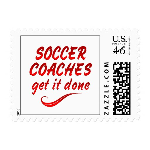 Soccer Coaches Get it Done Stamp