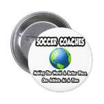 Soccer Coaches...Making the World a Better Place Pin