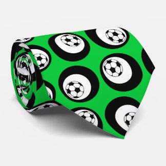 soccer color customizable neck tie