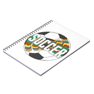 Soccer Colors Notebook