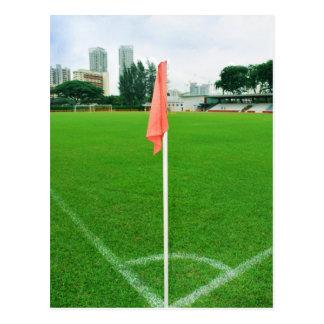 Soccer Corner Flag Postcard