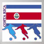 Soccer Costa Rica Print