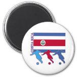 Soccer Costa Rica Refrigerator Magnet