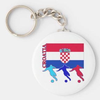 Soccer Croatia Keychain