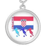 Soccer Croatia Pendants