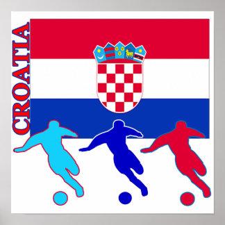 Soccer Croatia Poster