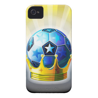 Soccer Crown iPhone 4 Case