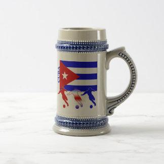 Soccer Cuba Beer Stein