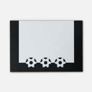 Soccer | Custom background color Post-it® Notes