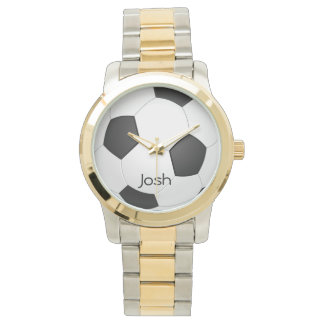 Soccer Customized Name Watch
