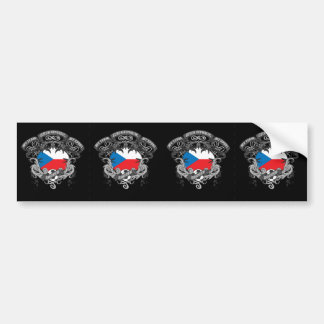 Soccer Czech Republic Bumper Sticker