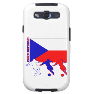 Soccer Czech Republic Galaxy SIII Cases