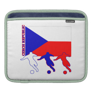 Soccer Czech Republic iPad Sleeves