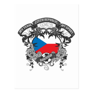 Soccer Czech Republic Postcard