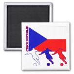 Soccer Czech Republic Refrigerator Magnets